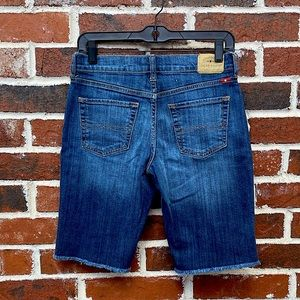 Lucky Brand size 25 jean shorts.